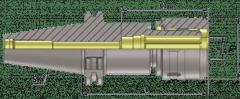 DIN 69871 PortaPinza de gran apriete SK40