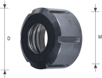 Clamping Nut for ER Collet Chucks
