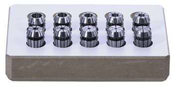 ER Collet Set DIN 6499-B in a wooden box and 1 mm increments Standard