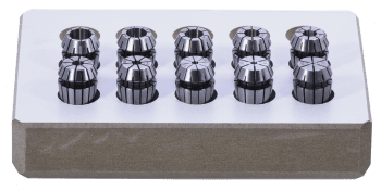 ER Collet Set DIN 6499-B in a wooden box and 1 mm increments Utraprecision