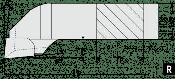 Herramienta acabado DIN 4978/ISO 3