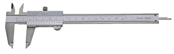 "Vernier caliper with set screw, ""top"" series"
