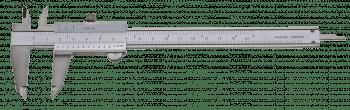 "Vernier caliper with set screw, ""top"" series"