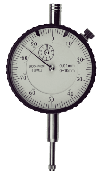 Reloj comparador DIN 878 con recorrido de 10mm,