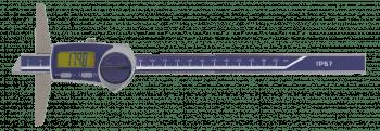 Digital depth vernier caliper, IP67 200 mm