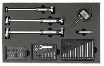 Internal measuring instrument set, 18-160 mm, with digital indicator