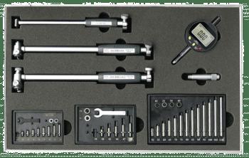 Internal measuring instrument set, 18-160 mm, with digital indicator