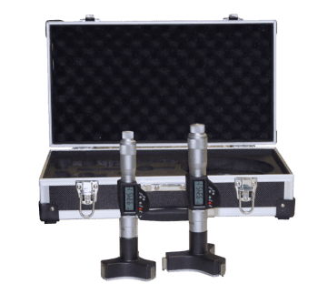 Set of micrometers in box with setting gauge extensions 20-50 mm