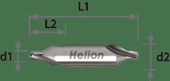 HSS Center Drill DIN 333A