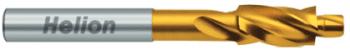 Avellanador cilíndrico 180° guia tol. fina DIN 373 HSS TiN