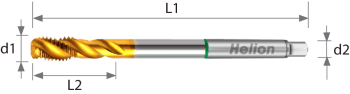 Universal Machine Tap Long HSS-E