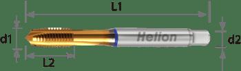 Universal Machine Tap Performance HSS-E-PM