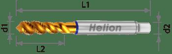 Macho de máquina multiuso producción HSS-E-PM