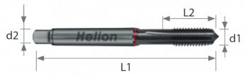Macho de máquina alto rendimiento para aceros duros HSS-E-PM