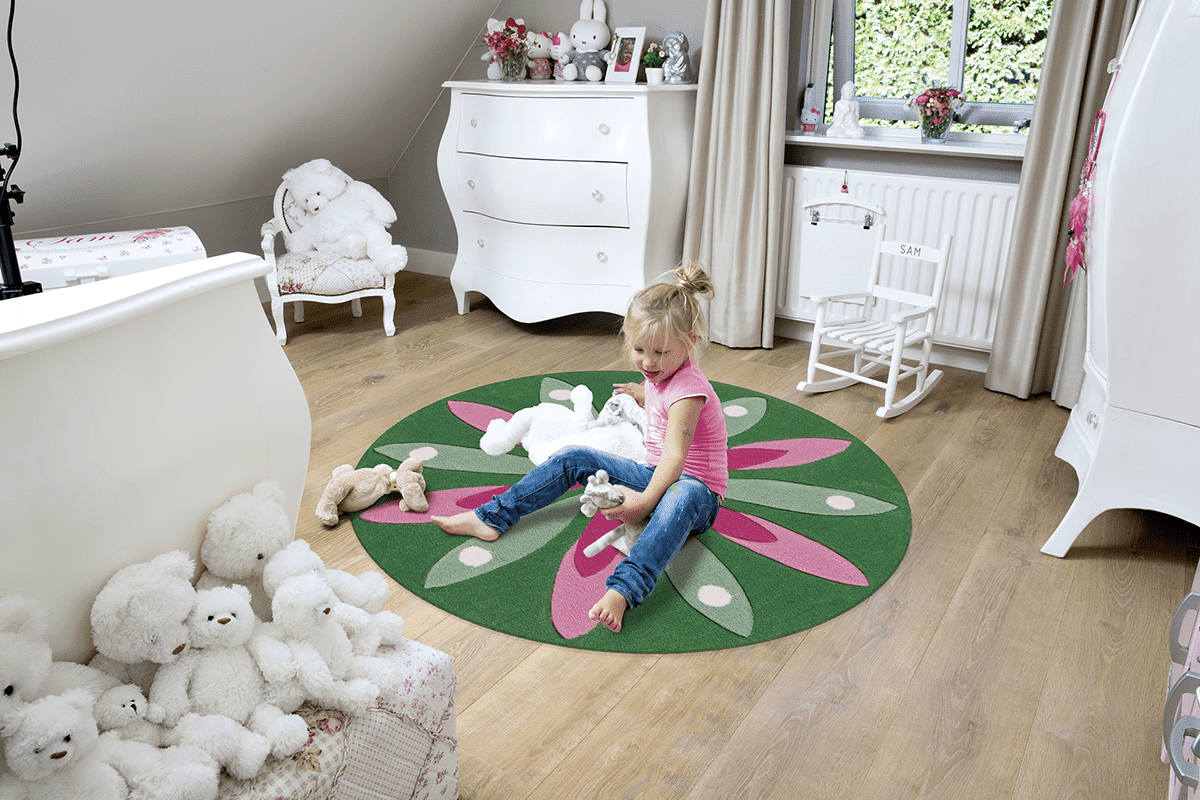 Los beneficios de las alfombras infantiles