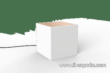Mesita Bora con Luz (43x43x43) - 5