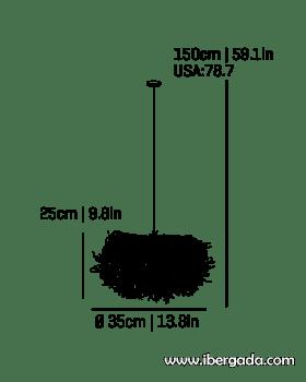 Caos -B- Colgante - 4