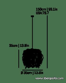 Caos -A- Colgante - 2