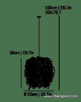 Caos -AG- Colgante - 3
