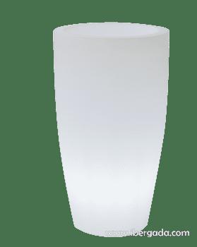 Macetero Bambu 70 Light (40x40x70)