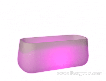 Macetero Camelia Large Light (98X40X40)