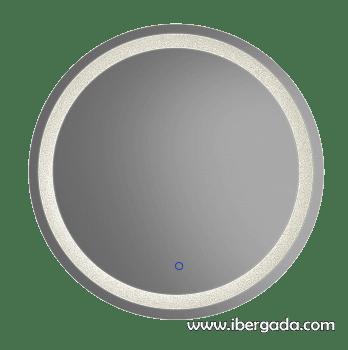 Espejo Jupiter LED Redondo (70x70) - 2