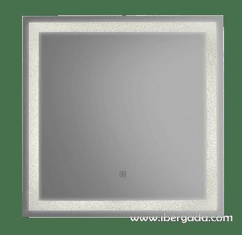 Espejo Jupiter LED Cuadrado (70x70) - 2