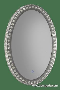 Espejo Neptuno LED Oval (50x70) - 1