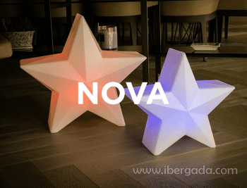 Estrella con luz Nova 45 - 1