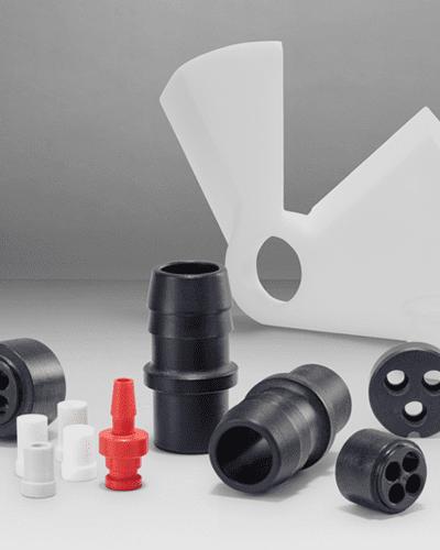 Piezas plástico mecanizadas