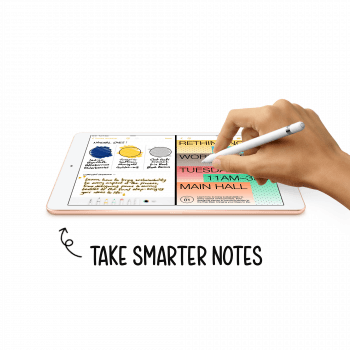 APPLE IPAD 10.2 2020 8TH WIFI CELULAR 32GB ORO - 7