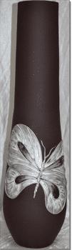 Jarrón mariposa