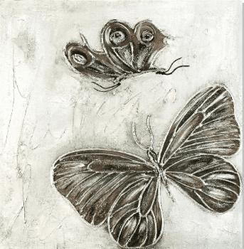 """Cuadro """" Due papillon"""""""
