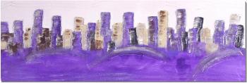 """Cuadro """" Abstracto ciudad"""""""