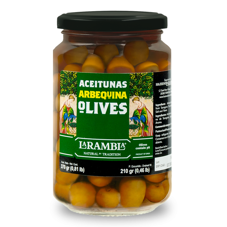 ARBEQUINA OLIVES
