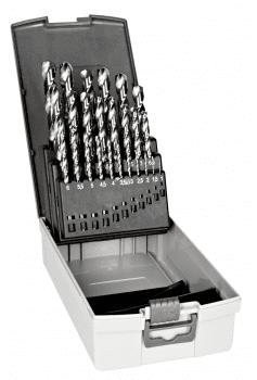 Juego de brocas HSS-G para metal (25 piezas)