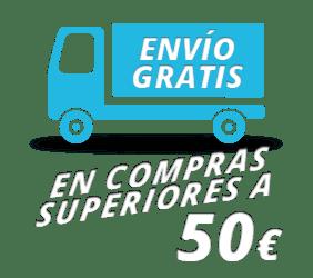 Envío gratis compras superiores a 50 €