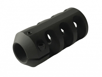 ATLASWORXS - M18 X 1 THREADED MUZZLE BRAKE 30 CAL