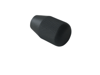 ATLASWORXS M6 BOLT KNOBS - KNURLED BLACK - 1