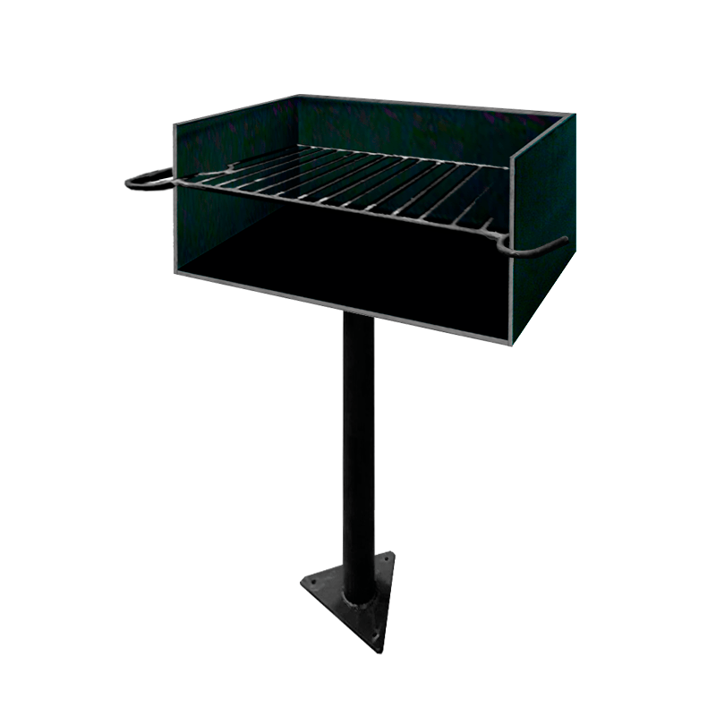 STEEL BARBECUE -