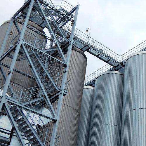 Estructuras metálicas para la industria