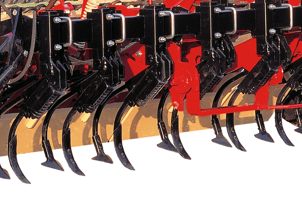 Integrated cultivator for EURO