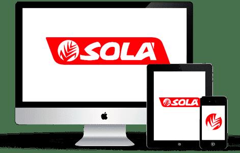 Maquinaria Agricola Sola - Responsive Web