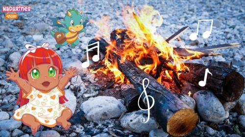 Petra canta una canción para los Nadurines