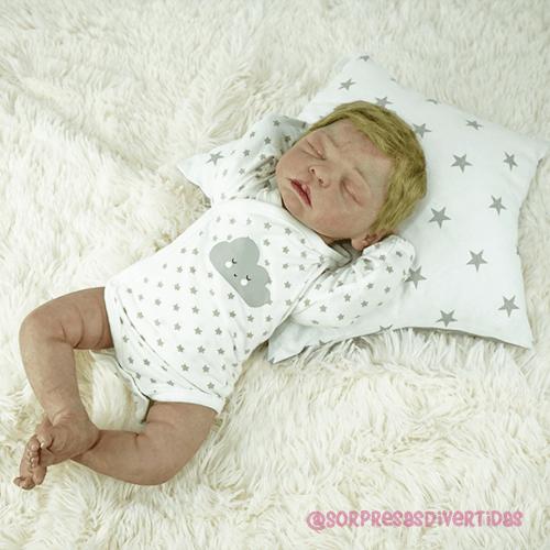 Bebé Reborn Zinny (VENDIDO) - 3