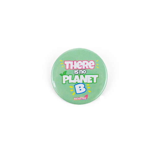 "Chapa solidaria ""THERE IS NO PLANET B"""