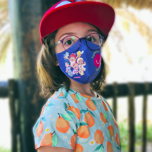 Mascarilla infantil Sorpresas Divertidas y Nadurines - 1