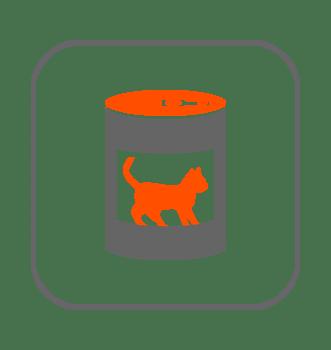 Alimentación húmeda gatos