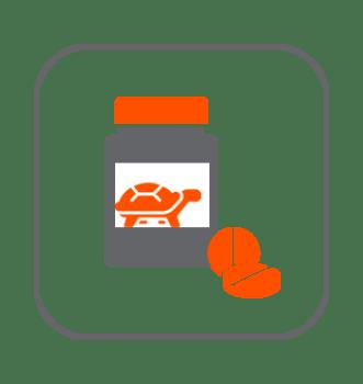 Salud y vitaminas tortugas