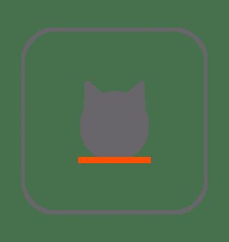 Decoración hogar gatos